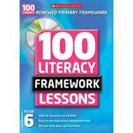 100 New Literacy Framework Lessons for Year 6 with CD-Rom (BOK)