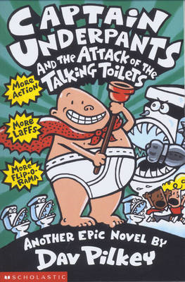 Captain Underpants and the Attack of the Talking Toilets (BOK)
