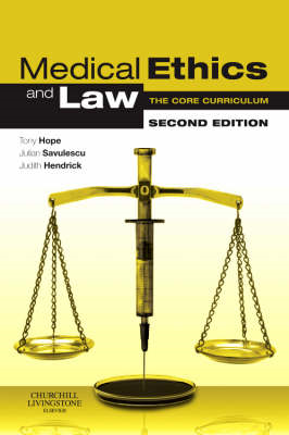 Medical Ethics and Law (BOK)