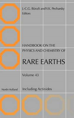 Handbook on the Physics and Chemistry of Rare Earths: Including Actinides (BOK)