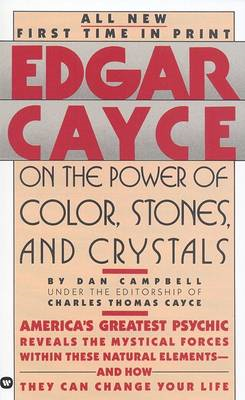 Edgar Cayce on the Power of Color, Stones and Crystals (BOK)