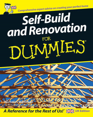 Self-build and Renovation for Dummies (BOK)
