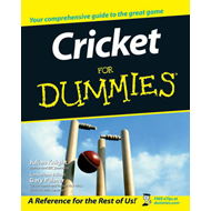 Cricket For Dummies (BOK)