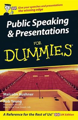 Public Speaking and Presentations For Dummies (BOK)