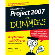 Microsoft Office Project 2007 For Dummies (BOK)