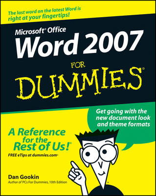 Word 2007 For Dummies (BOK)