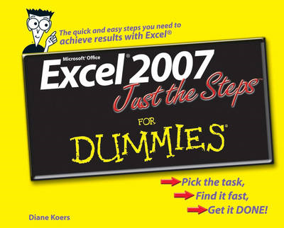 Excel 2007 Just the Steps For Dummies (BOK)