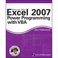 Excel 2007 Power Programming with VBA (BOK)