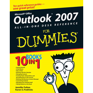 Outlook 2007 All-in-one Desk Reference For Dummies (BOK)