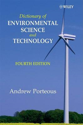 Dictionary of Environmental Science and Technology (BOK)