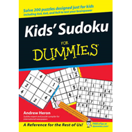 Kids' Sudoku for Dummies (BOK)