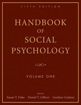 Handbook of Social Psychology, Volume One (BOK)