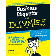 Business Etiquette For Dummies (BOK)