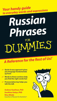 Russian Phrases For Dummies (BOK)