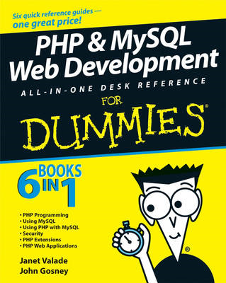 PHP and MySQL Web Development All-in-one Desk Reference For (BOK)