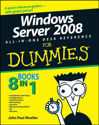 Windows Server 2008 All-in-one Desk Reference For Dummies (BOK)