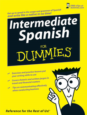 Intermediate Spanish For Dummies (BOK)