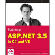 Beginning ASP.NET 3.5: in C# and VB (BOK)