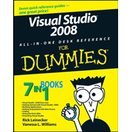 Visual Studio 2008 All-in-one Desk Reference For Dummies (BOK)
