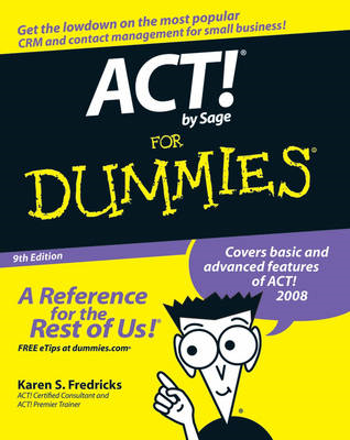 ACT! by Sage For Dummies (BOK)
