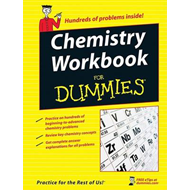 Chemistry Workbook For Dummies (BOK)