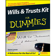 Wills and Trusts Kit For Dummies (BOK)