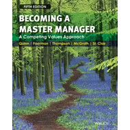 Becoming a Master Manager: A Competing Values Approach (BOK)