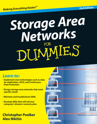 Storage Area Networks (SANs) For Dummies (BOK)
