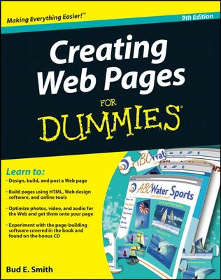 Creating Web Pages For Dummies (BOK)