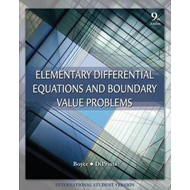 Elementary Differential Equations and Boundary Value Problems (BOK)