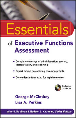 Essentials of Executive Functions Assessment (BOK)