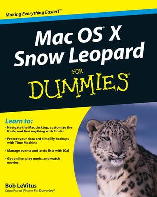 Mac OS X Snow Leopard For Dummies (BOK)