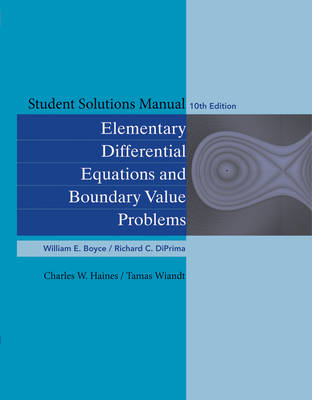 Student Solutions Manual to Accompany Boyce Elementary Diffe (BOK)