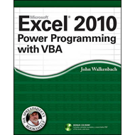 Excel 2010 Power Programming with VBA (BOK)