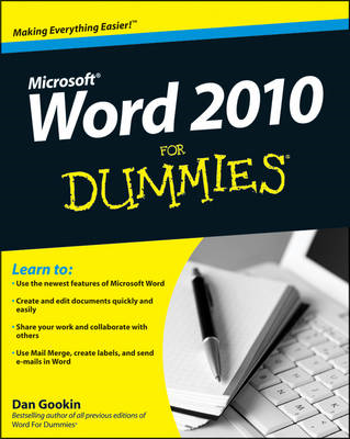 Word 2010 for Dummies (BOK)