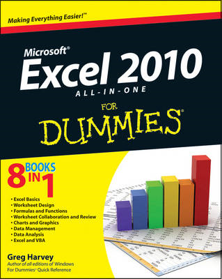 Excel 2010 All-in-One For Dummies (BOK)