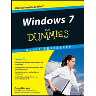 Windows 7 For Dummies Quick Reference (BOK)