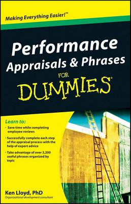 Performance Appraisals & Phrases for Dummies (BOK)