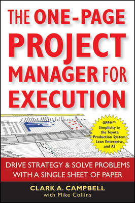 One Page Project Manager for Execution (BOK)