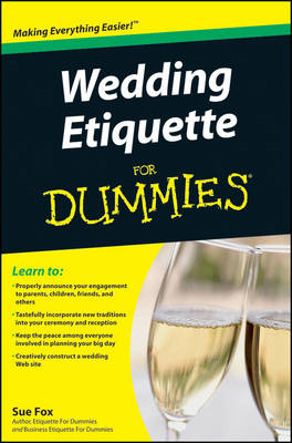 Wedding Etiquette For Dummies (BOK)