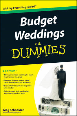 Budget Weddings For Dummies (BOK)