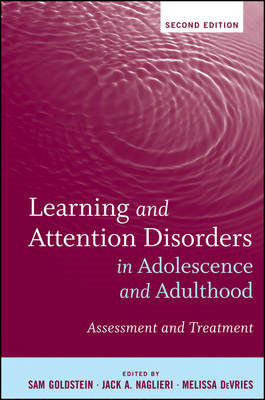 Learning and Attention Disorders in Adolescence and Adulthoo (BOK)
