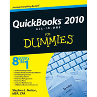 QuickBooks 2010 All-in-one For Dummies (BOK)