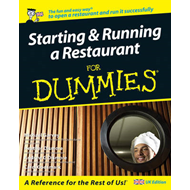 Starting and Running a Restaurant For Dummies (BOK)