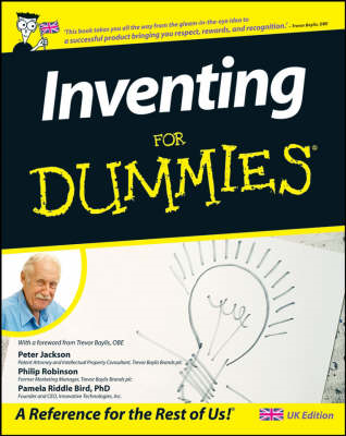 Inventing For Dummies (BOK)