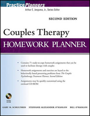 Couples Therapy Homework Planner (BOK)