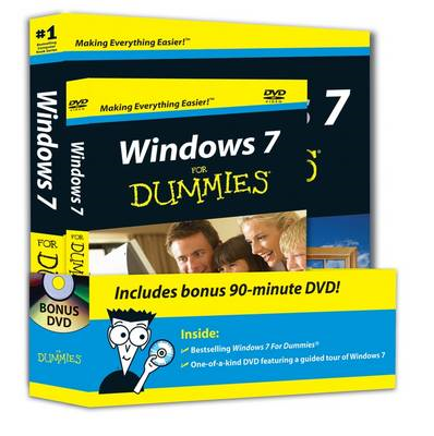 Windows 7 For Dummies Book and DVD Bundle (BOK)