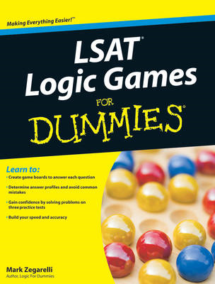 LSAT Logic Games For Dummies (BOK)