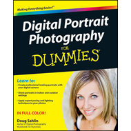 Digital Portrait Photography For Dummies (BOK)