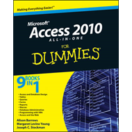 Access 2010 All-In-One for Dummies (R) (BOK)